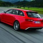 Audi RS 4 Avant in der Heckansicht