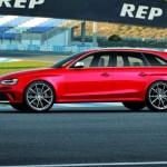 Audi RS 4 Avant in der Seitenansicht