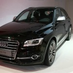 Audi SQ5 in Pantherschwarz
