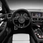Das Interieur des Audi SQ5