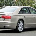 B & B Audi A8 in der Heckansicht