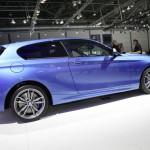 BMW 1er als Dreitürer auf der Leipziger messe