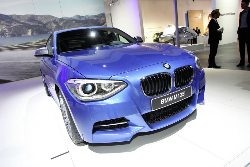 BMW 1er F21 in der Frontansicht