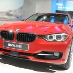 BMW 328i Touring in Rot auf der AMI 2012
