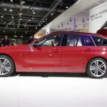 Der neue BMW 3er Touring in der Seitenansicht