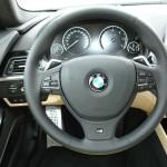 Das Cockpit des neuen BMW 6er Coupe 640d