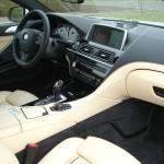 Der Innenraum des BMW 6er Coupe 640d wirkt sehr Edel