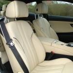 Die Fahrer und Beifahrer Ledersitze des BMW 6er Coupe 640d