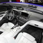 Der Innenraum des BMW M6 Cabrio