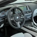 Das Cockpit des neuen BMW M6 Cabriolet