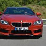 BMW M6 Coupe in Rot Front