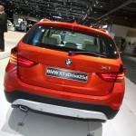 neuer BMW X1 in der Heckansicht