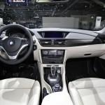 Der Innenraum des BMW X1