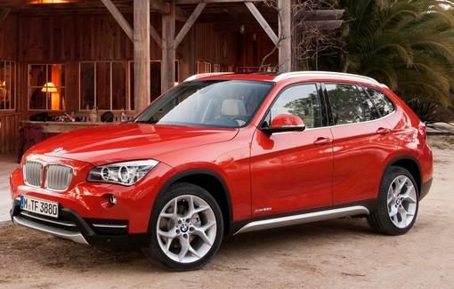 Der aktuelle BMW X1 in Rot