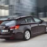 Chevrolet Cruze Station Wagon 2012 in der Heckansicht