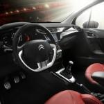 Der Innenraum des Citroen C3 Red Block
