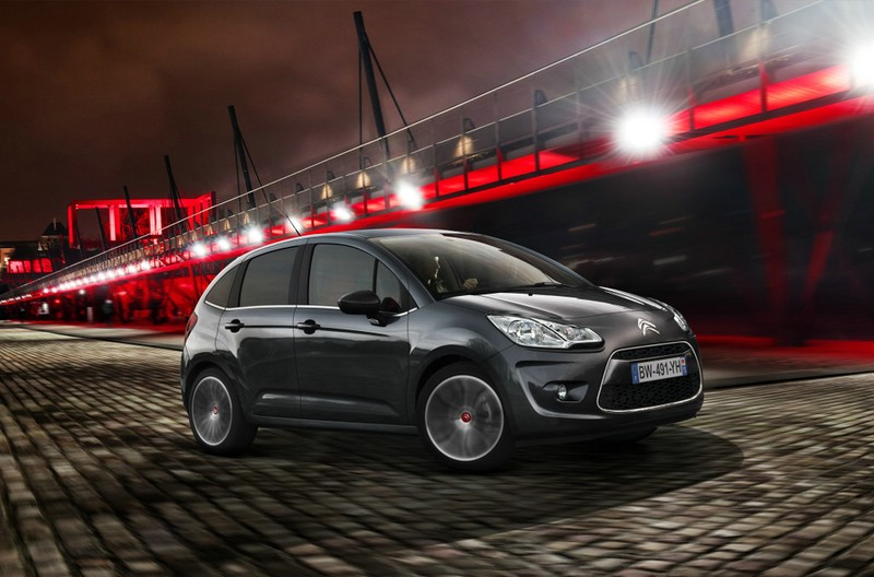Citroen C3 als Sondermodell Red Block