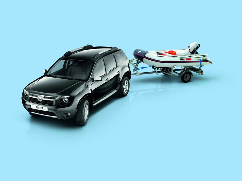 Dacia Duster mit dem Yamaha-Marine-Paket