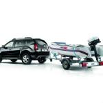 Dacia bietet den Duster mit Anhänger und Yamaha-Schlauchboot