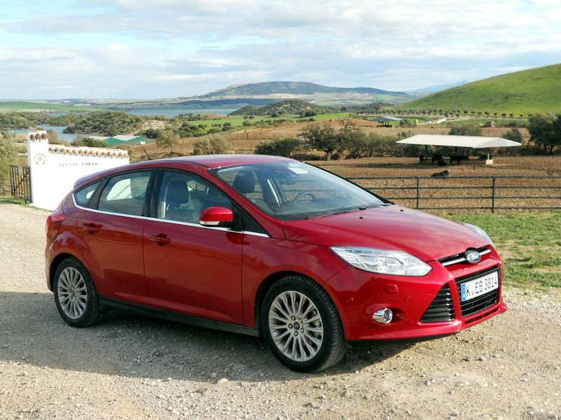Ford Focus LPG in Rot