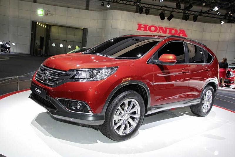 Honda CR-V Prototype in leipzig 2012