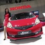 Honda Jazz 1.4 Si in der Frontansicht