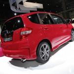 Honda Jazz 1.4 Si in der heckansicht auf der AMI