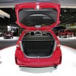 Der Kofferraum des Honda Jazz 1.4 Si
