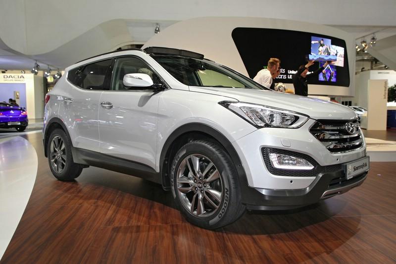Die 3. Generation des SUV Hyundai Santa Fe