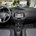 Das Armaturenbrett des Hyundai i20