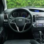 Das Cockpit des Hyundai i20