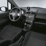 Das Armaturenbrett des Suzuki Splash 2012