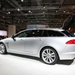 Die Seitenansicht des neuen Jaguar XF Sportbrake