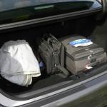 Der Kofferraum des Lexus GS 450h