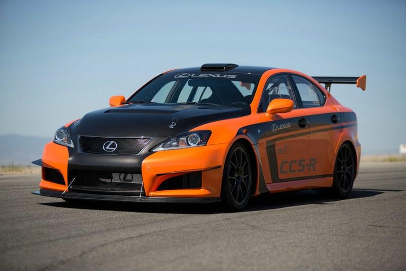 Lexus IS F CCS-R Race Car mit 423 PS