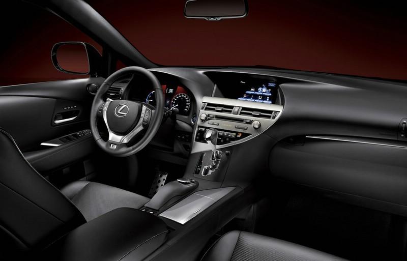 Das Armaturenbrett des neuen Lexus RX 450h