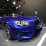 BMW M6 Cabriolet in Blau-Lackierung