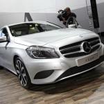 Die neue A-Klasse von Mercedes auf der AMI Leipzig 2012