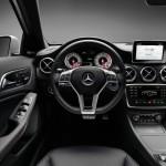 Cockpit der neuen Mercedes-Benz A-Klasse