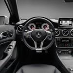 Das Cockpit der neuen Mercedes-Benz A-Klasse