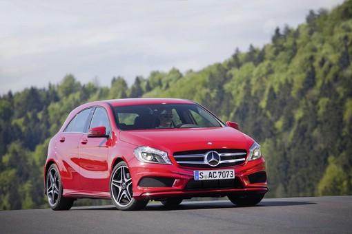 A-Klasse von Mercedes-Benz in der Frontansicht