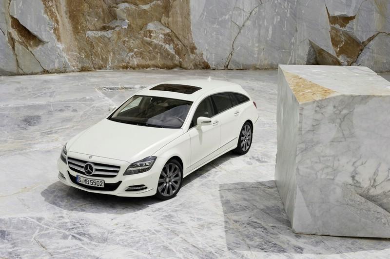 Mercedes-Benz CLS Shooting Brake in der Frontansicht