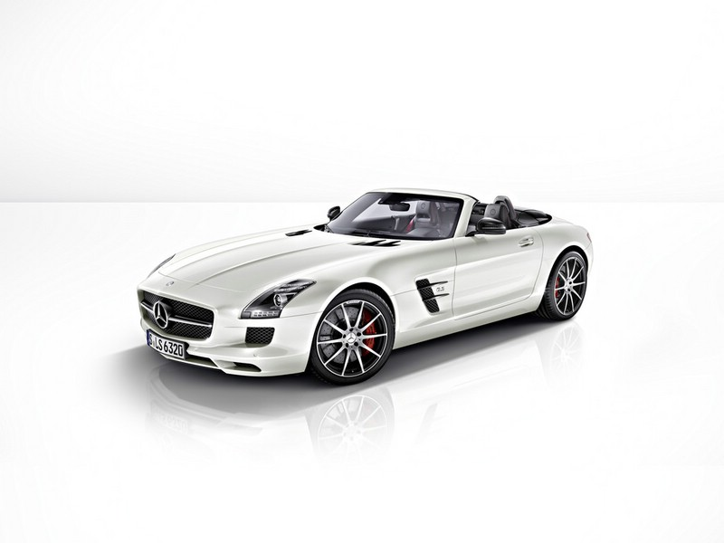 Mercedes-Benz SLS AMG GT in Weiß