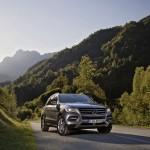 Mercedes-Benz ML 500 4Matic Blue Efficiency in der Frontansicht