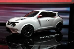 Nissan Juke Nismo in Weiss