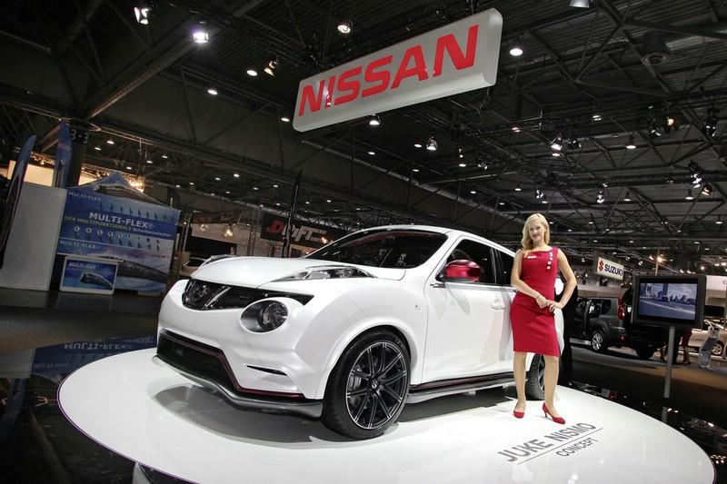 Nissan Juke Nismo auf der AMI 2012 in Leipzig