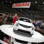Die Frontpartie des Nissan Juke Nismo
