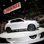 Die Seitenpartie des Nissan Juke Nismo