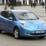 Der neue Nissan Leaf fährt rein elektrisch