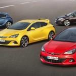 Der neue Opel Astra in drei Varianten